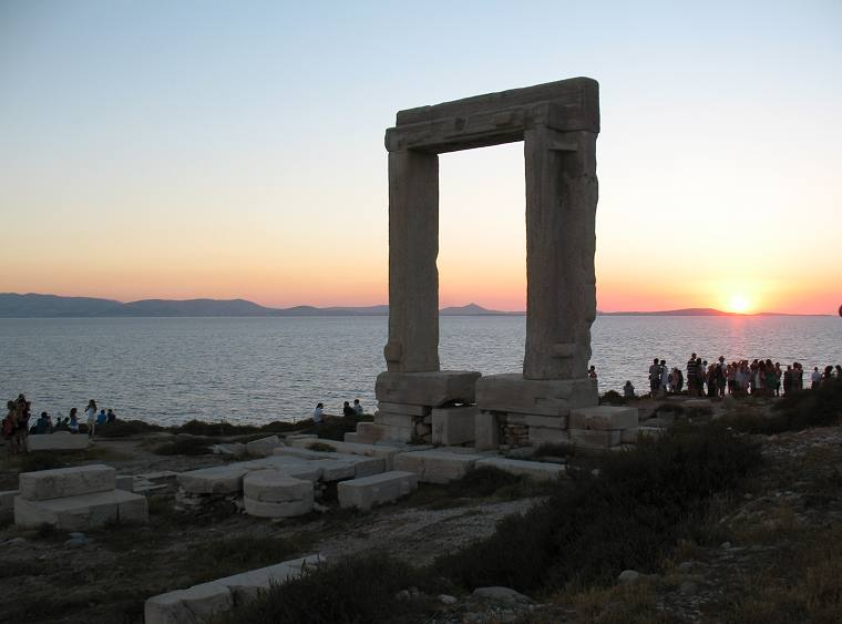 Portara (Apollo Temple in Naxos Town)